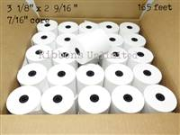 3 1/8 x 2 9/16165 feet Thermal Paper Roll 50CT