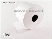 27166I 3 1/8 X3 Thermal Paper Roll Qty 1