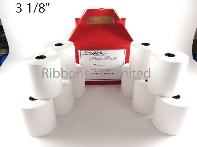 3 1/8 X 3 Thermal Paper Rolls 10CT