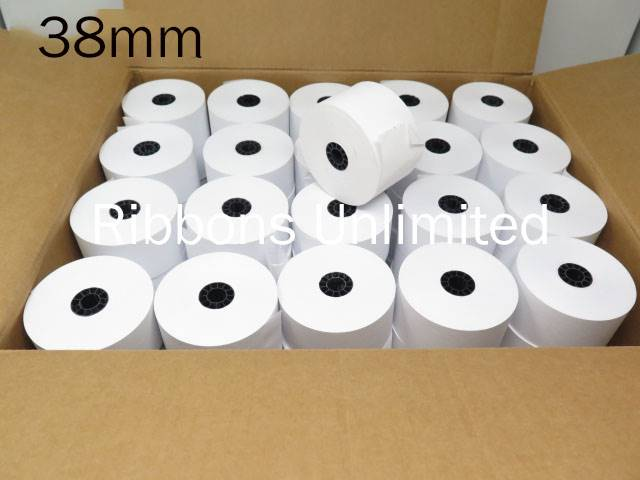 38mm X 3 1-Ply Paper Rolls 100 CT