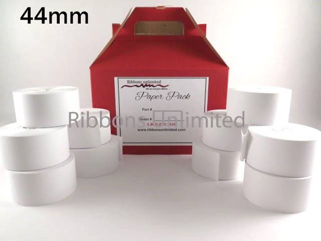 44mmX80mm 1 3/4 X3 (160 feet) Paper Rolls 10CT