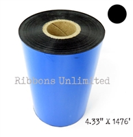 621113 4.33 X 1476 Premium Wax Thermal Ribbon
