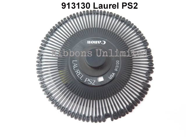 Canon 913130 Laurel PS2 Typewriter Printwheel