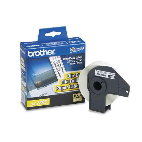 Brother DK1203 Labels 300Pk File Folder