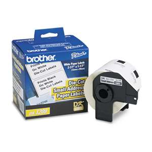 Brother DK1209 Labels 800Pk SmallAddress