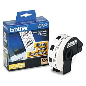 Brother DK1218 Labels 1000Pk Round 1
