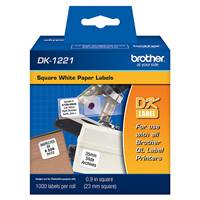 Brother DK1221 Labels 1000Pk Square 1