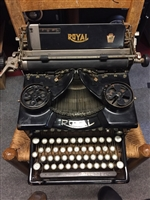 Royal Manual Typewriter from the 1950s