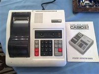Vintage Casio Printing Calculator