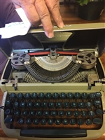Light Green Manual Typewriter