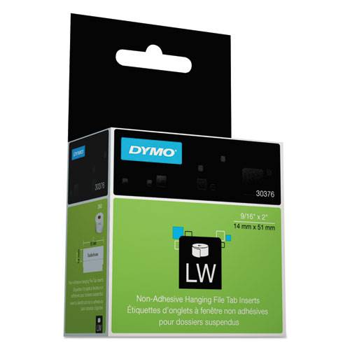 DYMO 30376 LabelWriter Labels File Tab 0.6 X2