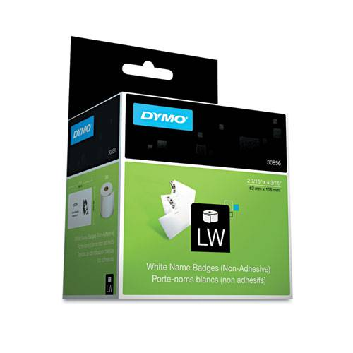 DYMO 30856 LabelWriter Labels Name Badge 2.4 X4.2
