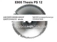 Nakajima E805 Genuine PS Thesis 12 Printwheel