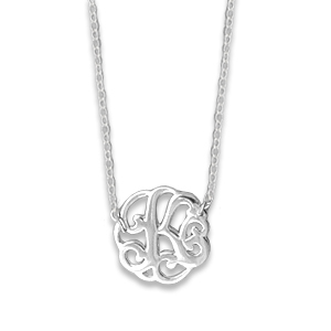 N0122-18 : 'K' Monogram Necklace