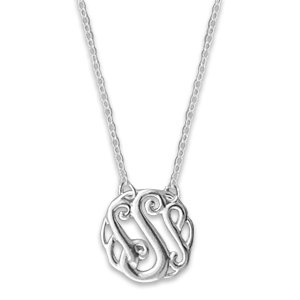 N0127-18 :'S' Monogram Necklace