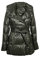 Hooded Belted Jacket
