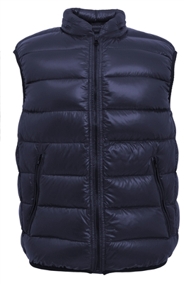 Men's Selfpak Vest With Hidden Hood