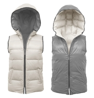 Hooded Reversible Vest