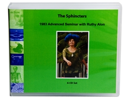 The Sphincters: 1983 Advanced Seminars CD Set with Ruthy Alon