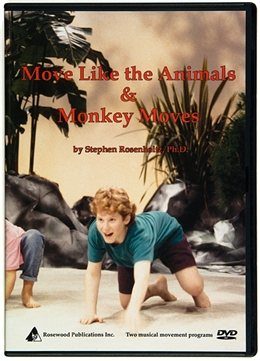 Move Like the Animals & Monkey Moves DVD Combo Set, Stephen Rosenholtz
