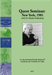 New York Quest Workshop 1981, Moshe Feldenkrais