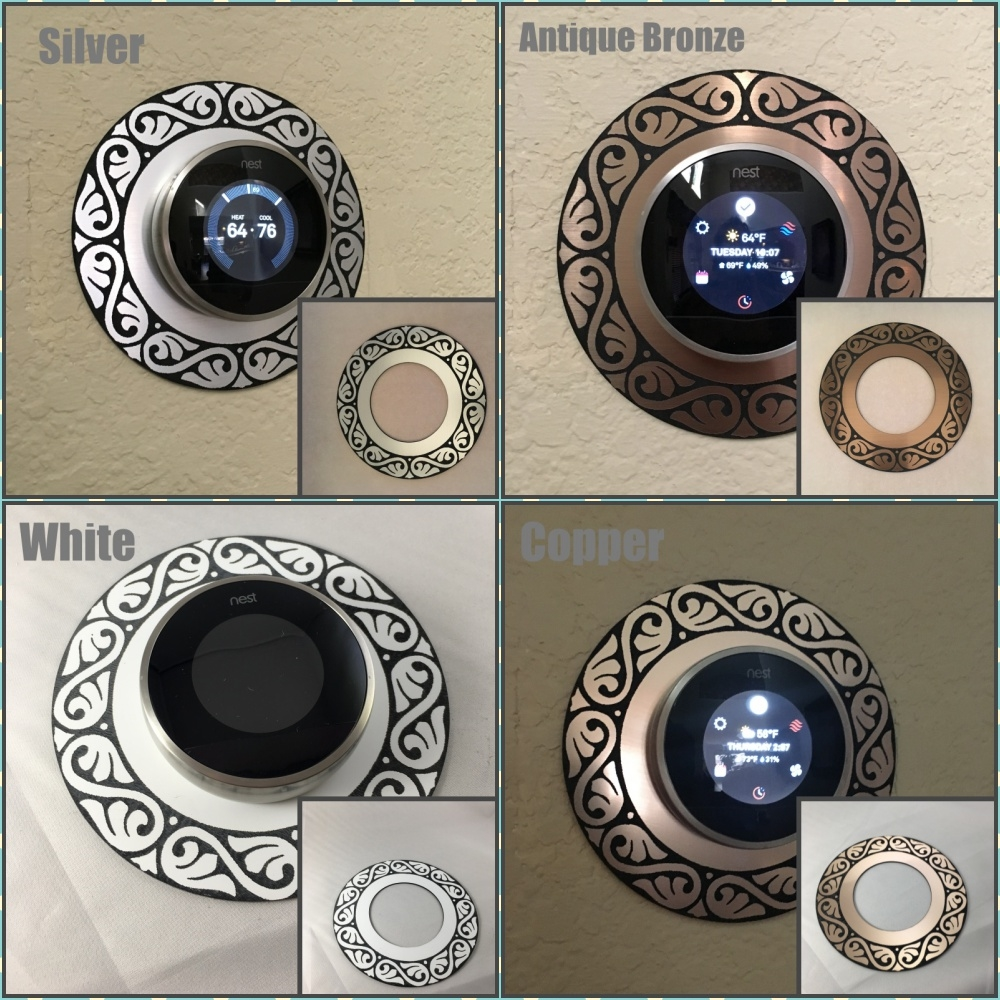 large decorative plates for the wall.htm nest decorative feather style thermostat wall plate  feather style thermostat wall plate