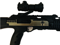 Hi-Point Carbine Decorative Sticker - Punisher - Gold