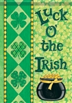 Irish Luck Decorative House Flag
