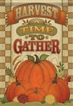 A Time to Gather Garden Flag