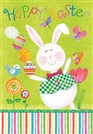 Juggling Bunny Decorative House Flag