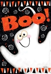 Boo Ghost Standard House Flag