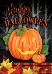 Halloween Jack Decorative Garden Flag
