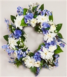 "Spring Floral Wreath (24"")"