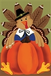 Bountiful Turkey Decorative Garden Flag