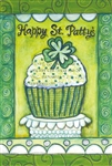 Happy St. Patty's Decorative Garden Flag