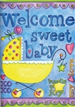 Baby Decorative Garden Flag