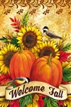 Fall Sunflowers Decorative Garden Flag