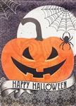 Happy Halloween Decorative Garden Flag