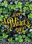 Happy St. Patrick's Day Decorative Garden Flag