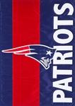 New England Patriots Applique Garden Flag