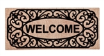 Filigree Welcome Sassafras Insert Mat