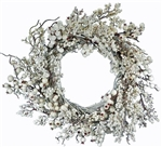 Winter White Berry Wreath