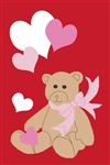 Bear with Hearts