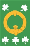 Claddagh Handcrafted Full Size Flag