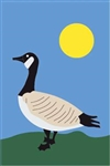 Canadian Goose Handcrafted Full-Size House Flag
