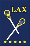 Lacrosse Handcrafted Full-Size House Flag