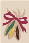 Indian Corn Handcrafted Full-Size House Flag