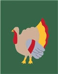 Turkey Handcrafted Garden Flag