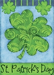 St. Patrick's Day Decorative House Flag