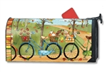 Autumn Bike Ride  MailWraps Mailbox Cover